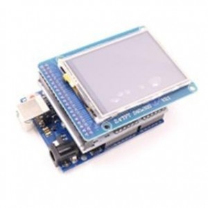 "UNO R3 + 2.4"" TFT LCD + Adapter + USB kábel"