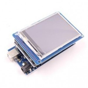 "MEGA 2560 + 3.2"" TFT LCD + Adapter + USB kábel"