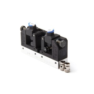 Extruder upgrade kit for Makerbot Replicator 2X