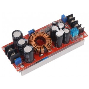 1200W step up boost converter 8-60V 12-82V 20A